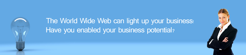 The world wide web can light up your business.  Have you spoke with a consultant yet?